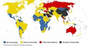Espíritus Libres mapa de la censura en internet