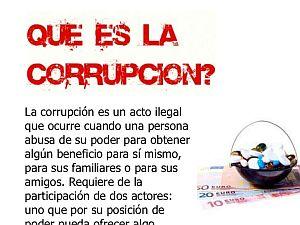 poder y corrupción