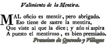 Virftud y vicio en Francisco de Quevedo