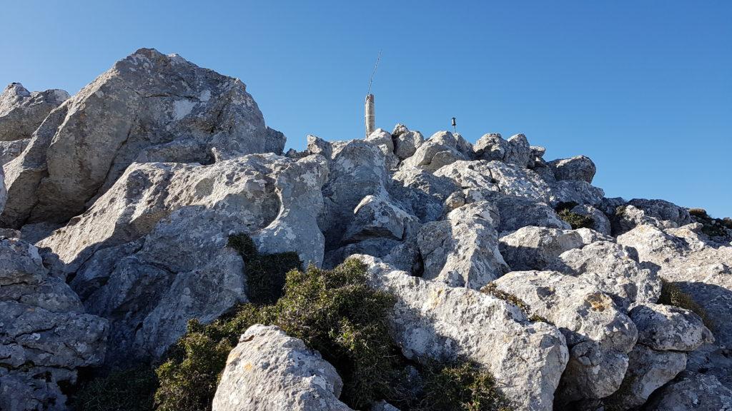 Ruta subida al Pico Chamizo