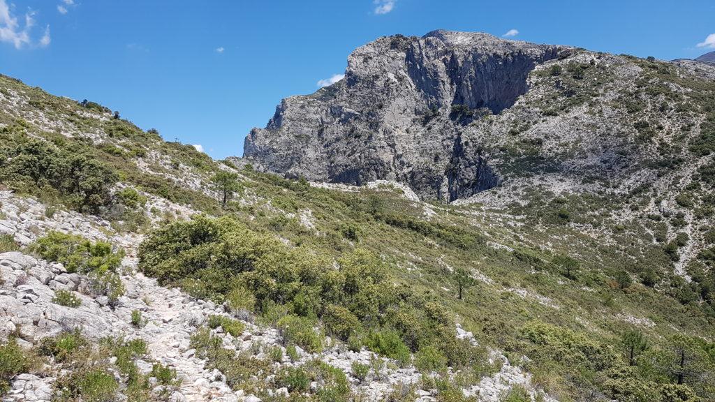 Hacia el Nido del Buitre y el Navachica