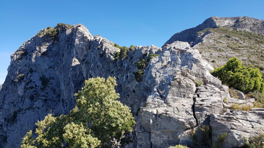 Cortados verticales previos al Nido del Buitre
