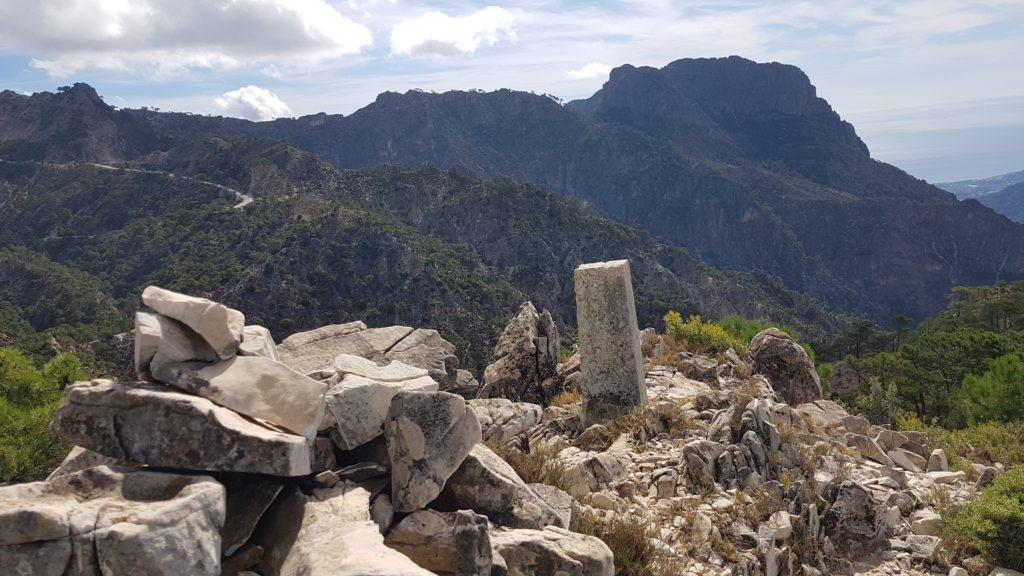 Las paredes Norte del Cisne desde el Cerro del Caracolillo