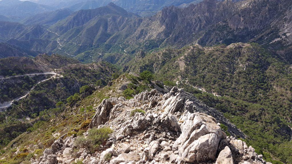 Cumbre de los Machos. Espolón Suroeste hacia el Valle del Higuerón