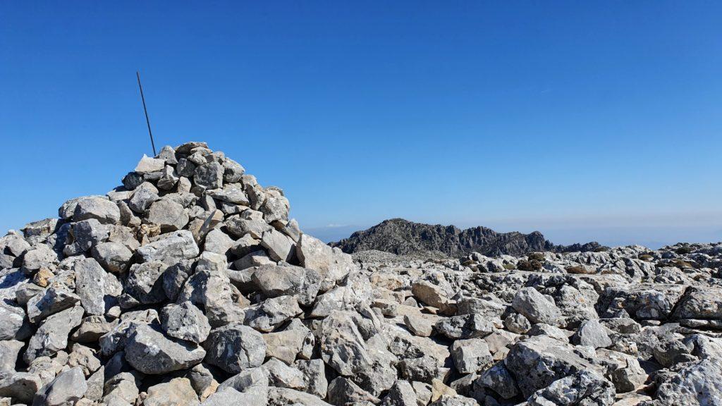 Cumbre 2. Altitud 1.501 metros