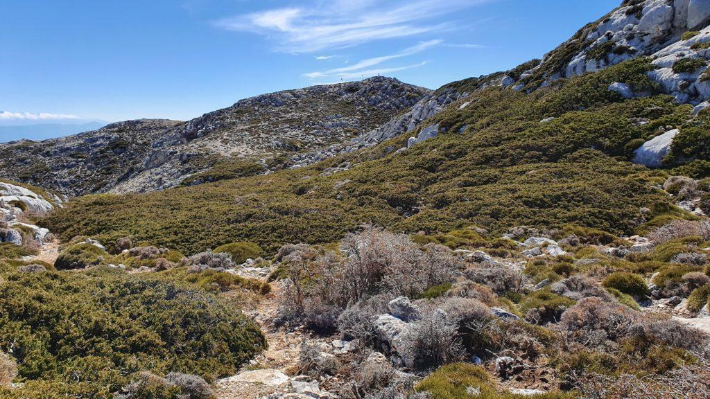 Vista al Pico Mágina