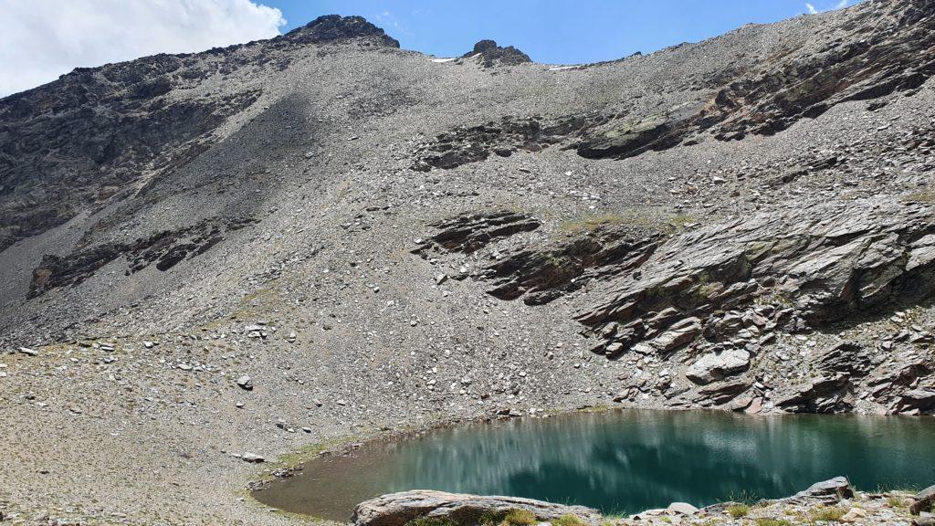 Puntal de Vacares. Laguna de Vacares
