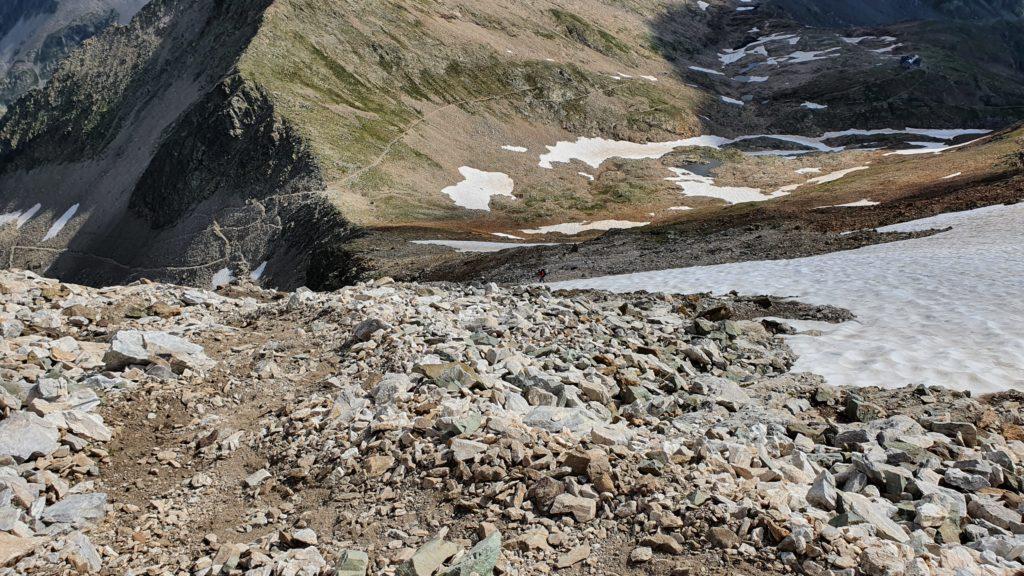 Vista a l'Hourquette d'Ossoue, desde los 2.900 m