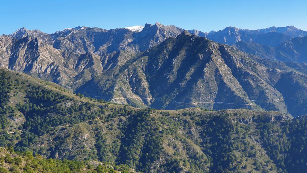 Tajo del Tío Ramón. Vistas a Sierra Almijara