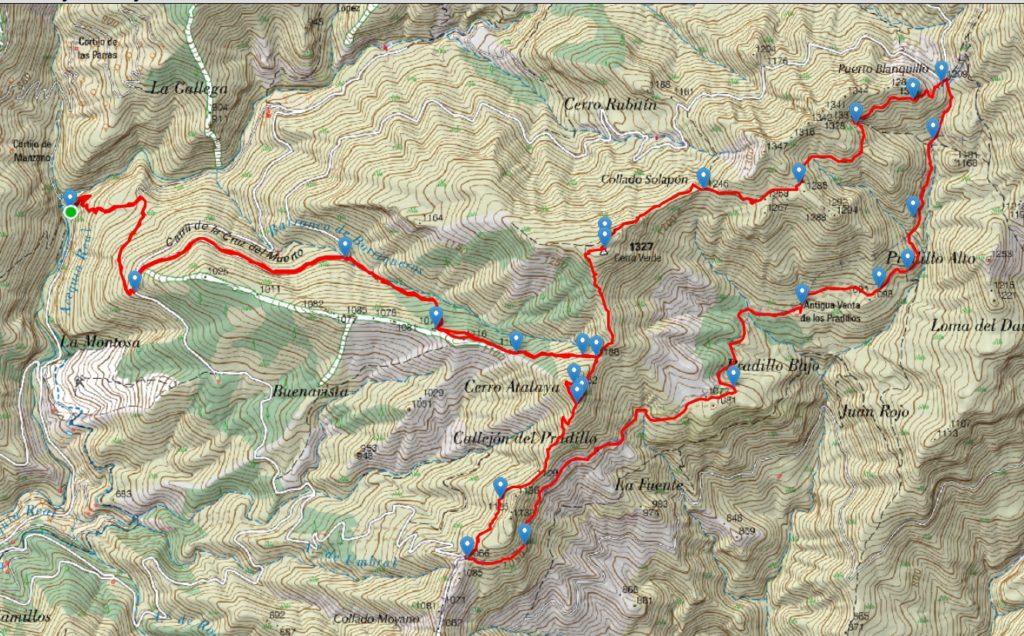 Ruta al Cerro Verde y Cerro Atalaya