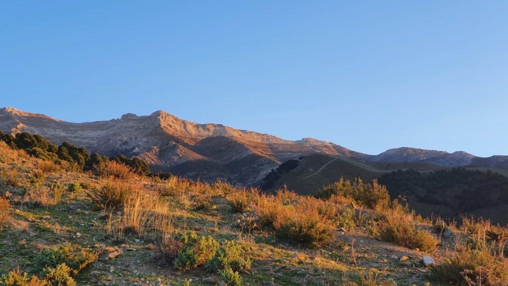 Cresta y laderas del Morrón