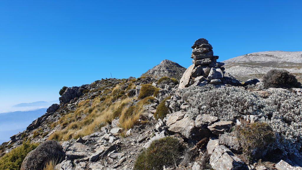 La cresta del Morrón. Vistas al Morrón desde el primer cerro
