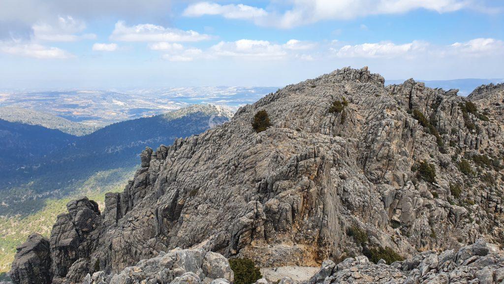 Arista Nordeste desde cerca de la cima del Lucero