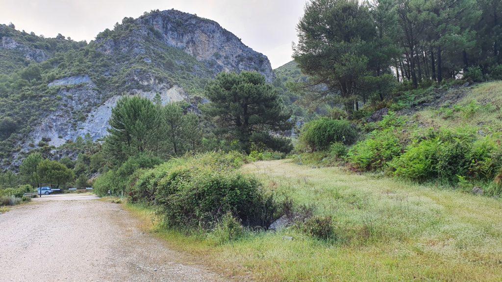 Cerro Cabañeros en sierra Almijara