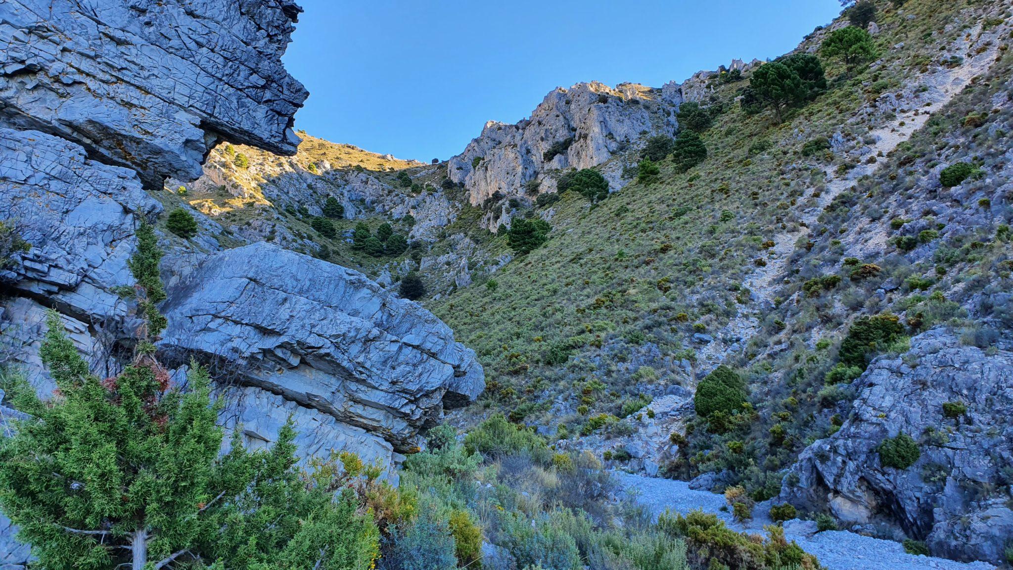 El Fuerte por el Barranco de Almanchares